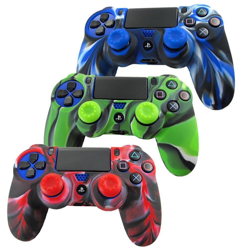 Fundas carcasa de silicona para mando PS4